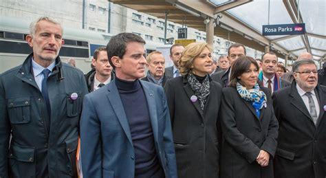 eiffage siege inauguration de la gare rosa parks manuel valls annonce