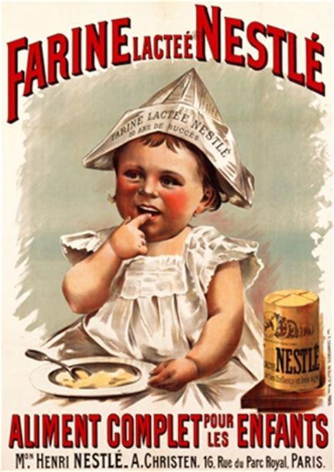 farine nestle  france beautiful vintage poster
