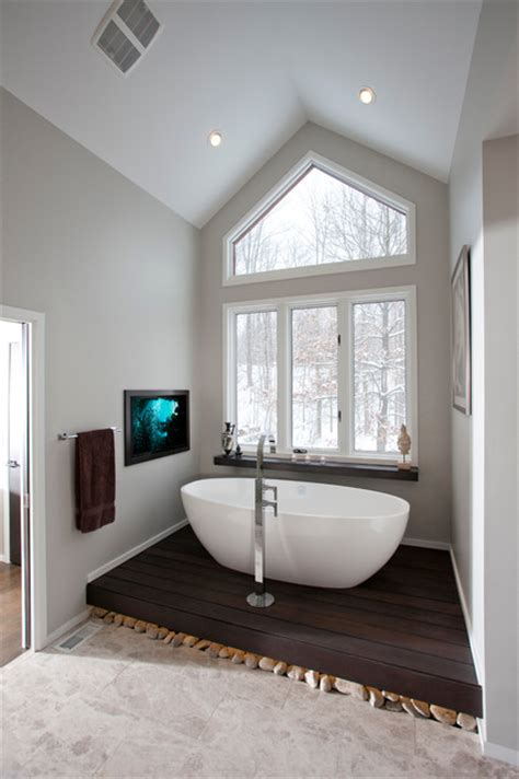 pinebrook residence modern bathroom cleveland