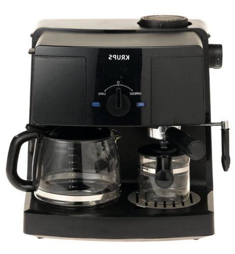 Ecs coffee espresso & coffee gear. KRUPS XP1500 Coffee Maker and Espresso Machine Combination,