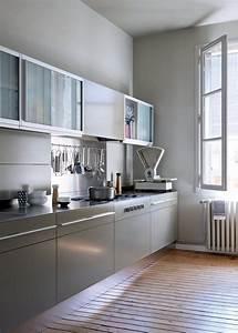 best 25 cuisine en longueur ideas on pinterest cuisine With exceptional sol beige quelle couleur pour les murs 1 1001 idees pour decider quelle couleur pour les murs d