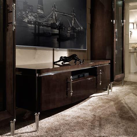 Tv Sideboards Furniture by Modern Italian Walnut Veneer Tv Media Sideboard