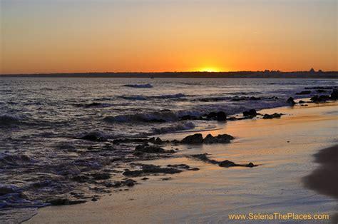 places    sunset walk   beach