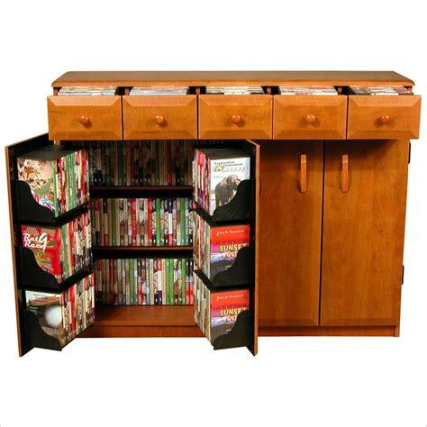 dvd cabinet with drawers venture horizon cd dvd media storage cabinet w drawers ebay