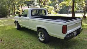 1986 Ford Ranger Xl 2 9 V6  5 Speed Manual  Long Bed