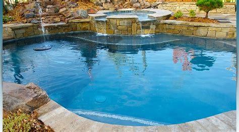 Oklahoma City Swimming Pool Design Gallery Aquascapes