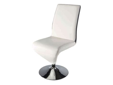 chaise blanche et noir chaise noir et blanc maison design modanes com