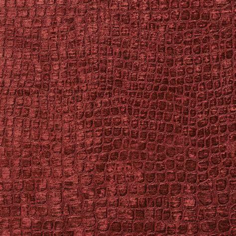 A0151t Burgundy Textured Alligator Woven Velvet Upholstery. Tufted Club Chair. Marble Tile Backsplash. Linen Wallpaper. Large Fruit Bowl