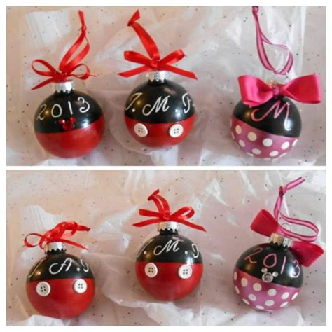 mickey mouse christmas ornaments the most wonderful time
