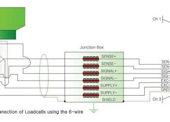 Load Cell Wiring Diagram by Wiring Diagram And Schematic Diagram Sle
