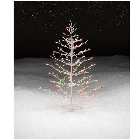 christmas tree spiral lighted holiday decor indoor outdoor