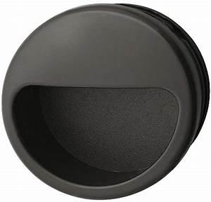Poignée Coquille Noire : poign e coquille en plastique ext rieur rond encoche en ~ Teatrodelosmanantiales.com Idées de Décoration