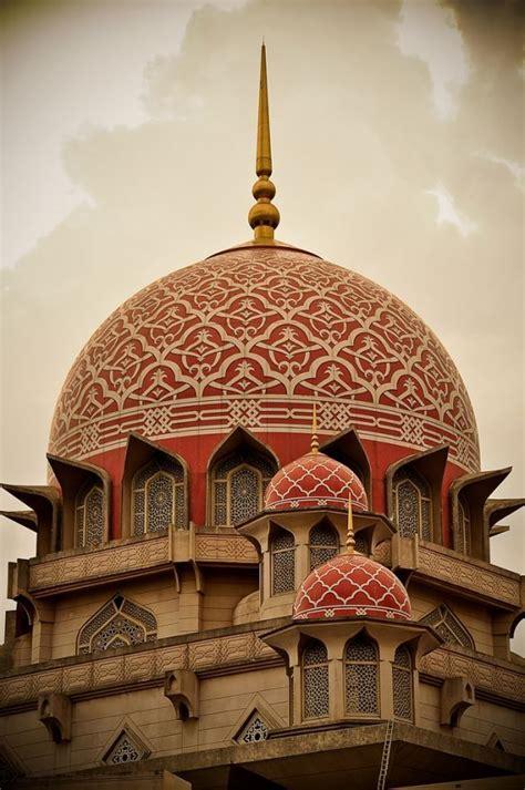 masjid putra dome detail putrajaya malaysia beautiful