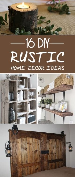 Rustic Home Decor Ideas by Rustic Home Decor Ideas
