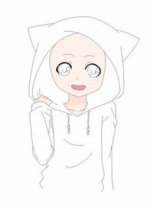 anime boy base | Cat Hoodie Base by natalielobsters ...