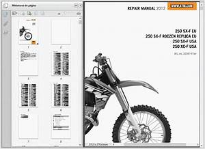 Ktm 250 Sx-f Xc-f And Roczen Replica  2012  - Service Manual