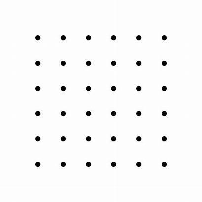 Grid Connect Dots Dot Lines 6x6 4x4