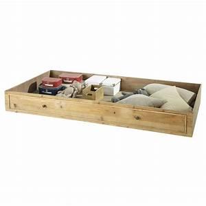 Rangement Tiroir Bois : tiroir de rangement en bois recycl noisette maisons du ~ Edinachiropracticcenter.com Idées de Décoration