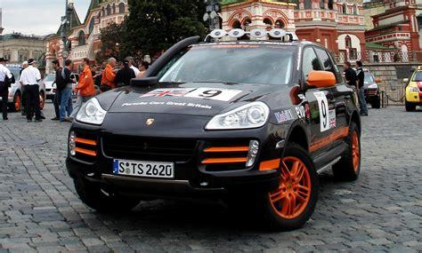 porsche rally stars  cayenne  transsyberia