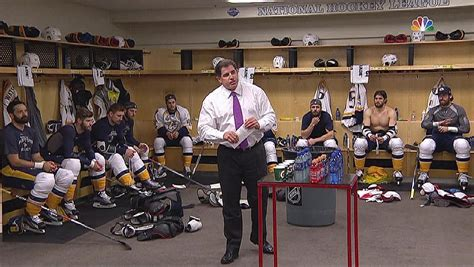 coaches locker room words nhlcom