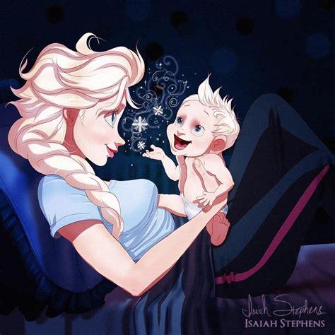 Takut Dia Hamil Wow Kalau Princess Disney Jadi Ibu Ternyata Malah Tambah