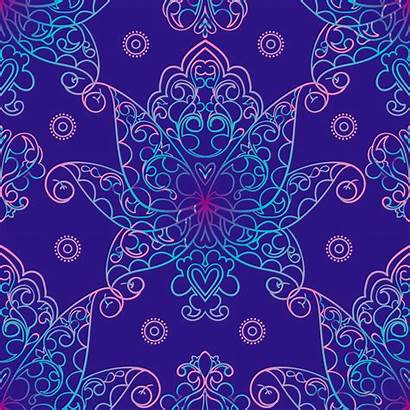 Russian Patterns Motives Vector Seamless Baroque Northern