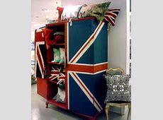 Union Jack wardrobearmoire Brit tastic all things union
