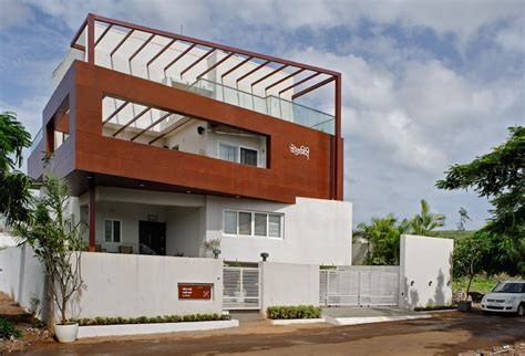 tall house  pune  architect