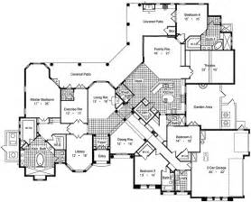 mansions floor plans luxury house plans