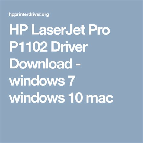 The full software solution provides print and scan functionality. HP LaserJet Pro P1102 Driver Download
