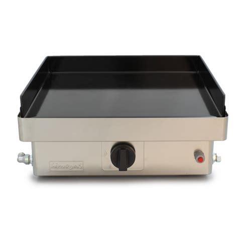 cuisiner la plancha gaz plancha em50 plaque amovible en acier