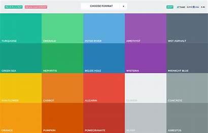 Colors Palette Colours Fresh Modern Designers Ui