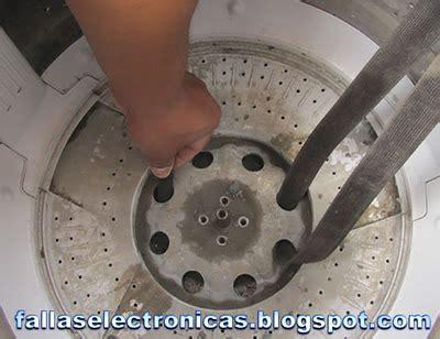 solucionado como quitar la tina de la lavadora para cambiar el empaque yoreparo