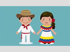 Dibujo de la vestimenta tradicional de Venezuela