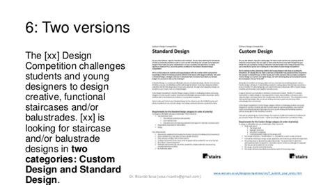 examples  design briefs