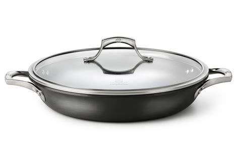 calphalon unison sear nonstick everyday braiser pan  cutlery