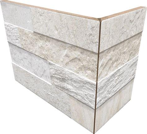 Dekors / klinkera flīzes ar akmens rakstu iekštelpām un fasādei