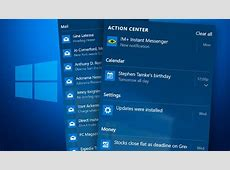 How to Use Windows 10 Action Center PCMagcom