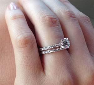 diamond engagement rings and wedding bands wedding ideas With best wedding band for solitaire engagement ring