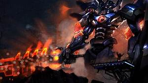 Mecha Aatrox Wallpaper without text by MinccinoFloof on ...