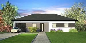 Maison En L Moderne : mod le de maison plain pied azur maisons crisalis ~ Melissatoandfro.com Idées de Décoration