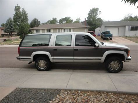 Buy Used 1993 Chevy Suburban 2500 4x4 4wd 454 In Colorado