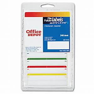 office depot brand color permanent typewriter file folder With does office depot print labels