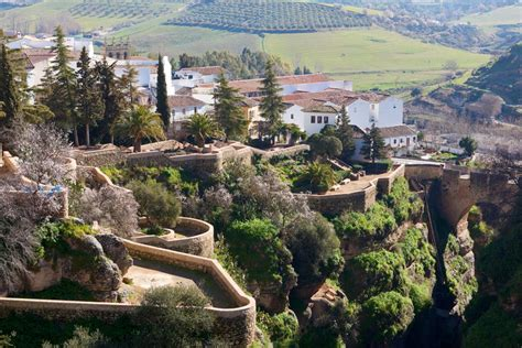 spain ronda malaga things cuenca jardines andalucia villages most gardens south towns southern holiday visiting while portugal