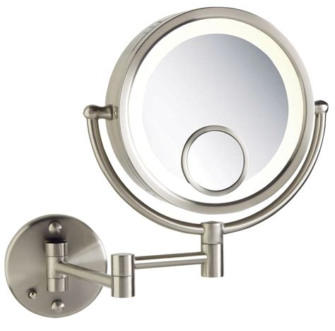 wall mounted makeup mirror with lights australia