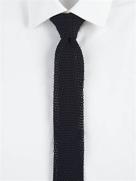 lyst polo ralph lauren silk knit tie  black  men