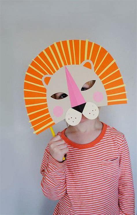 diy halloween mask crafts  kids hative
