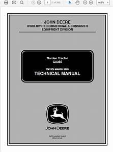 John Deere Gx 355 Diesel