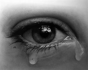 crying eye by hg-art on DeviantArt