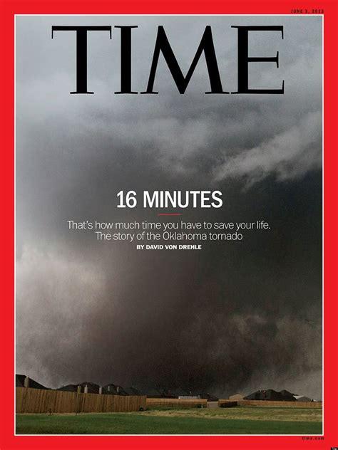 Time Magazine's Chilling Oklahoma Tornado Cover (PHOTO ...